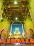 Anche canto in tempio di marmo Fotografia Stock Libera da Diritti