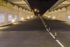 Anche foto dell'entrata e dell'uscita di un parcheggio in Zoetermeer, i Paesi Bassi immagini stock libere da diritti
