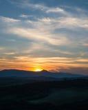 Anche paesaggio nei Carpathians ucraini fotografie stock libere da diritti