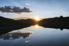 Anche paesaggio in Rocky Mountains, più selvaggio marrone rossiccio-Snowmass Fotografie Stock Libere da Diritti