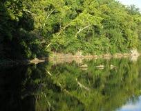 Anche paesaggio a Widewater fotografie stock