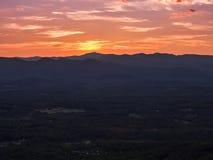 Anche sopra Georgia del Nord Fotografie Stock