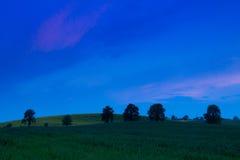 Anche sopra i campi della Moravia Immagini Stock Libere da Diritti