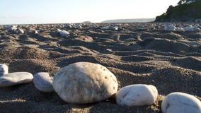 Anche Sun sulla spiaggia Fotografia Stock