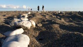 Anche Sun sulla spiaggia Immagine Stock