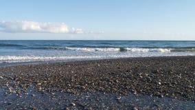 Anche Sun sulla spiaggia Immagini Stock