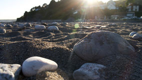 Anche Sun sulla spiaggia Immagine Stock Libera da Diritti