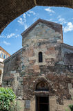 Anchiskhati church in Tbilisi Royalty Free Stock Image