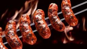 Ancho,传统巴西烤肉 股票视频