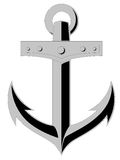 Anchor. Illustration of an anchor. Eps file included Royalty Free Stock Photo