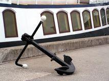 Anchor. In front of the boat Royalty Free Stock Photos