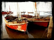 Anchor Boat Royalty Free Stock Photography