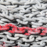 Anchor chain Stock Photography