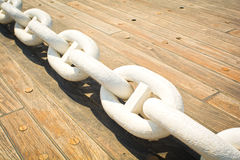Free Anchor Chain Royalty Free Stock Photography - 43301917
