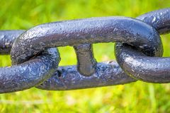 Anchor chain Royalty Free Stock Image
