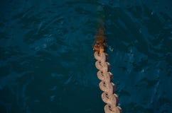 Anchor chain Stock Photos