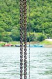 Anchor chain Royalty Free Stock Images