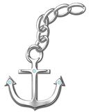 Anchor with circuit Stock Images