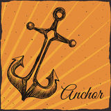 Anchor design Stock Photos