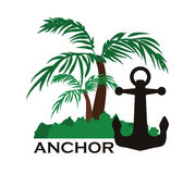 Anchor design Royalty Free Stock Photos