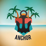 Anchor design Stock Photo