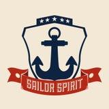 Anchor design Royalty Free Stock Photography