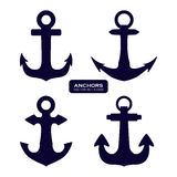 Anchor design Royalty Free Stock Image