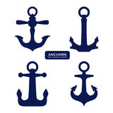 Anchor design Royalty Free Stock Images