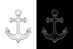 anchor Dessin d'ensemble illustration stock