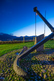 Anchor of the hermitage of Our Lady of Guia. Royalty Free Stock Photos