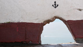 The Anchor. I was looking to the ground and I found this pretty anchor Royalty Free Stock Image