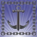 Anchor icon Royalty Free Stock Photography