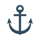 Anchor icon. Sea lifestyle design. Vector graphic Royalty Free Stock Photo