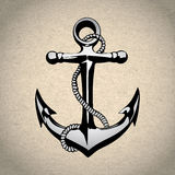 Anchor icon solated, nautical, heavy, iron, symbol Royalty Free Stock Photos