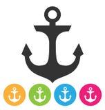 Anchor Icon Stock Photos