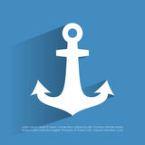 Anchor icon Stock Photo