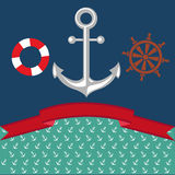 Anchor Illustration. Vector for Use Stock Photography