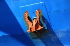Anchor In A Merchant Ship Stock Photos
