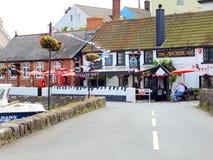 The Anchor Inn, Cockwood, Devon. Stock Photos