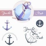 Anchor logo Stock Photography