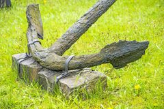 Anchor, old and rusty Royalty Free Stock Image