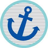 Anchor Patch Royalty Free Stock Photos