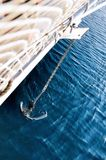 Anchor pulling Royalty Free Stock Image