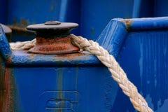 Anchor rope royalty free stock photos