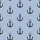 Anchor Seamless Pattern Background Vector Illustration Royalty Free Stock Photos