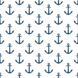 Anchor seamless pattern. Anchor on white background seamless pattern Royalty Free Stock Photos