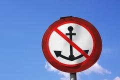 Anchor sign means Stock Photos