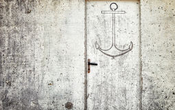 Anchor sign Stock Images