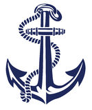 Anchor stencil vector Royalty Free Stock Photography