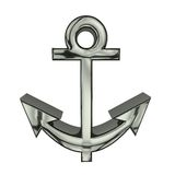 3d illustration anchor Royalty Free Stock Image
